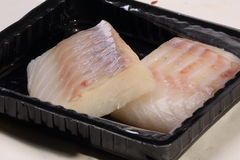 Two fish steaks  Royalty Free Stock Photography
