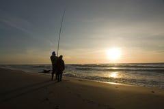Two Fishermen stock photo