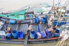 Two fishermen Royalty Free Stock Image