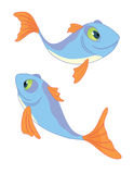 Two_fishes_II Stock Photography