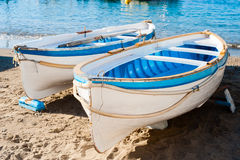 Two fishing boat Royalty Free Stock Image