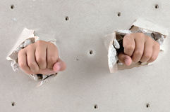 Two fist Stock Images