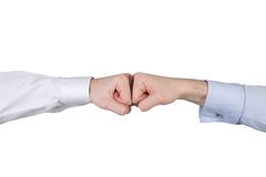 Two fists Stock Image