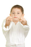 Two fists punch Royalty Free Stock Photo