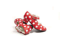 Two flamenco shoes. Royalty Free Stock Photo