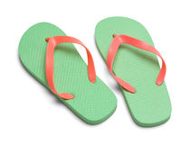 Two Flip Flops stock image