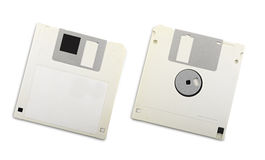 Two floppy disks Royalty Free Stock Photo