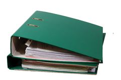 Two folders Stock Images