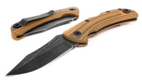 Two folding pocket knives Royalty Free Stock Photos