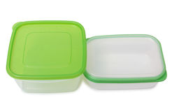 Two food containers Royalty Free Stock Photos