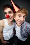 Two fools Stock Images