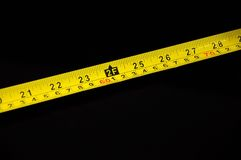 Two foot marker on measuring tape Stock Photos