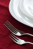 Two forks Royalty Free Stock Image