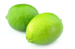 Two freash lime Stock Photography