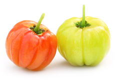 Two Fresh Cherry Fruits Royalty Free Stock Photography
