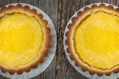 Lemon tarts Royalty Free Stock Photo