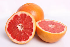Two fresh grapefruit Stock Photography