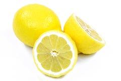 Two Fresh Lemons Stock Images