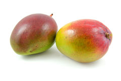 Two fresh mango fruit Royalty Free Stock Photo