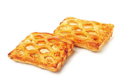 Two fresh pies Stock Image