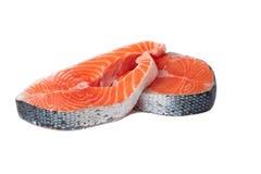 Two fresh salmon Stock Photos