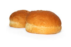 Two fresh small loaf Royalty Free Stock Photos