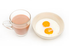 Two fried eggs Stock Photography