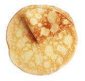 Two fried pancake Stock Image