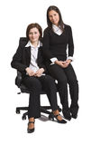 Two friend businesswomen Royalty Free Stock Photography