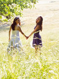 Two friends Royalty Free Stock Photos