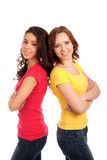 Two friends Royalty Free Stock Photo