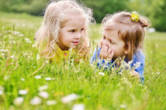 Two friends girls Royalty Free Stock Photography