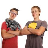 Two friends Stock Photography
