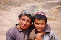 Free Two Friends In Kandahar, Afghanistan Royalty Free Stock Photos - 35236308