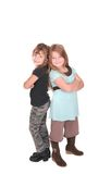 Two friends together Royalty Free Stock Image