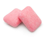 Two fruity chewing gum Royalty Free Stock Photos