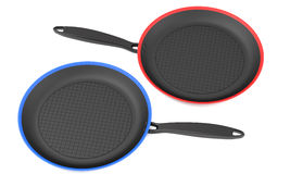 Two frying pans Royalty Free Stock Photography