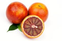 Blood Oranges Royalty Free Stock Image