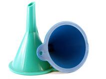 Two funnels Stock Photos