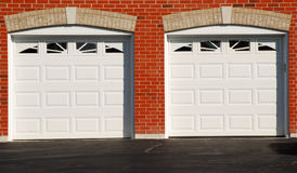 Two Garage Doors Royalty Free Stock Images