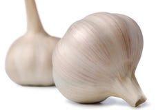 Two garlic Royalty Free Stock Image
