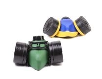 Two Gas Masks. Stock Image