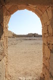 Two Gates in Avdat, the Nabatean City Royalty Free Stock Images