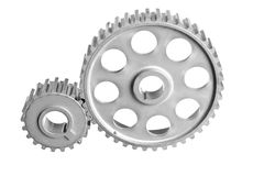 Two gear Royalty Free Stock Photography