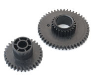 Two gear wheels. Royalty Free Stock Image