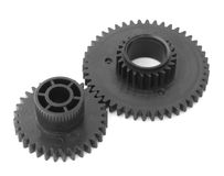 Two gear wheels. Stock Photo