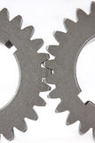 Two gears Royalty Free Stock Photography