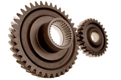 Two gears Stock Image