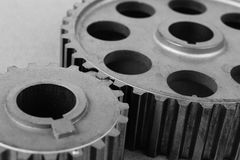 Two gears Royalty Free Stock Image