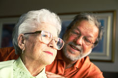 Two generation Royalty Free Stock Image